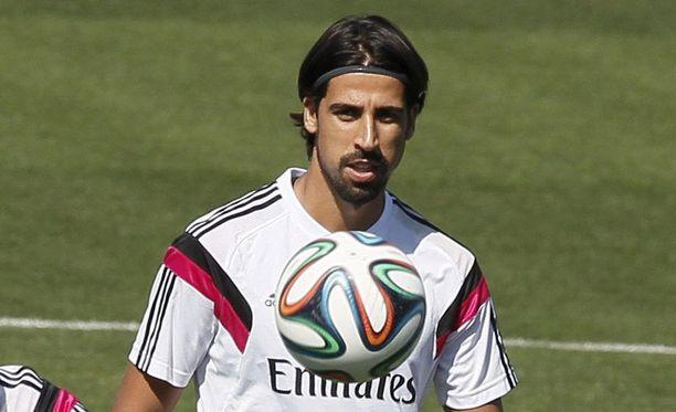 Sami Khedira on lähtökuopissa.