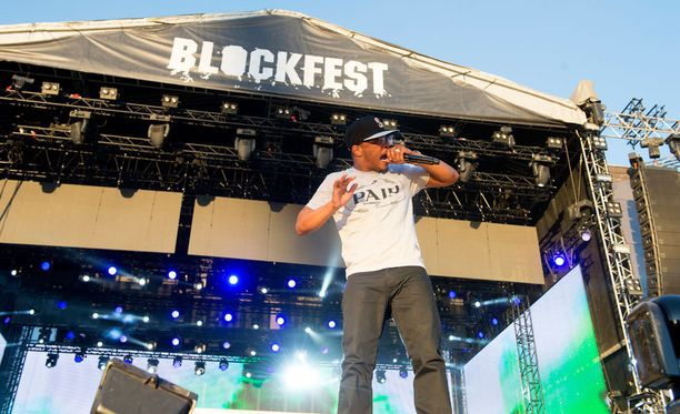 T.I. oli Blockfestin lauantain tähtiä.