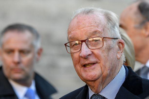 Belgian ex-kuningas Albert ll on ollut julkisuudessa väitetyn lehtolapsensa takia. Albert on kieltäytynyt isyystestistä. Kuvassa Albert marraskuussa 2018.