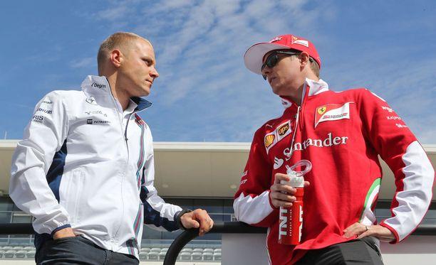 Valtteri Bottas ja Kimi Räikkönen kahdella korkeimmalla pallilla? Olisipa hunajainen tilanne!