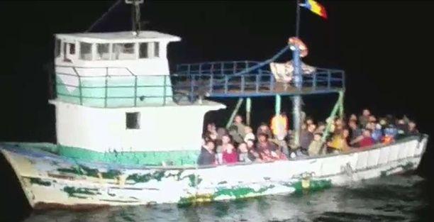 Mustanmeren yli yrittävien pakolaisten virta on kiihtynyt tasaisesti viime viikkoina. Kuva on otettu 24.8.