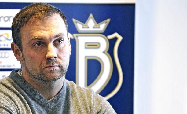 Jussi Salonoja on neuvotellut Bluesin kanssa jo muutaman viikon. Kuva vuodelta 2012.