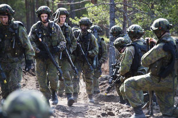 Maavoimien mekanisoitu harjoitus Arrow 16 2.-13.5.2016 Niinisalossa Kankaanpäässä.