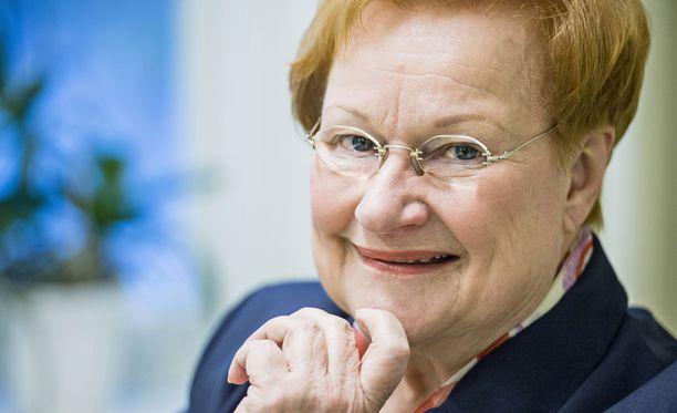 Tarja Halonen on tänään Sensuroimaton Päivärinta -ohjelman erikoisvieras.