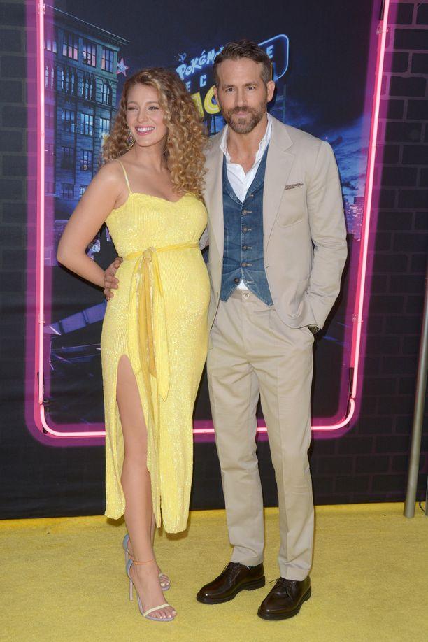 Näyttelijät Blake Lively ja Ryan Reynolds ovat kahden lapsen vanhempia.