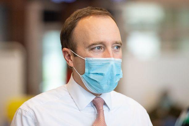 Terveysministeri Matt Hancockin ministeriö on suunnitelman takana.