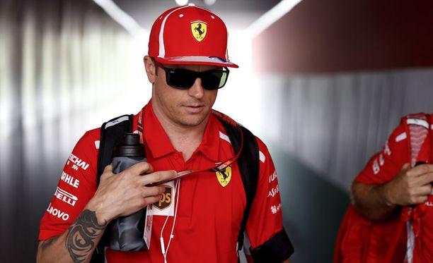 Kimi Räikkönen joutui toukokuussa ahdistelusyytösten kohteeksi.