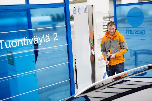 Rikumatin kaasu-Škodan toimintasäde on yhdellä tankkauksella noin 450 kilometriä.