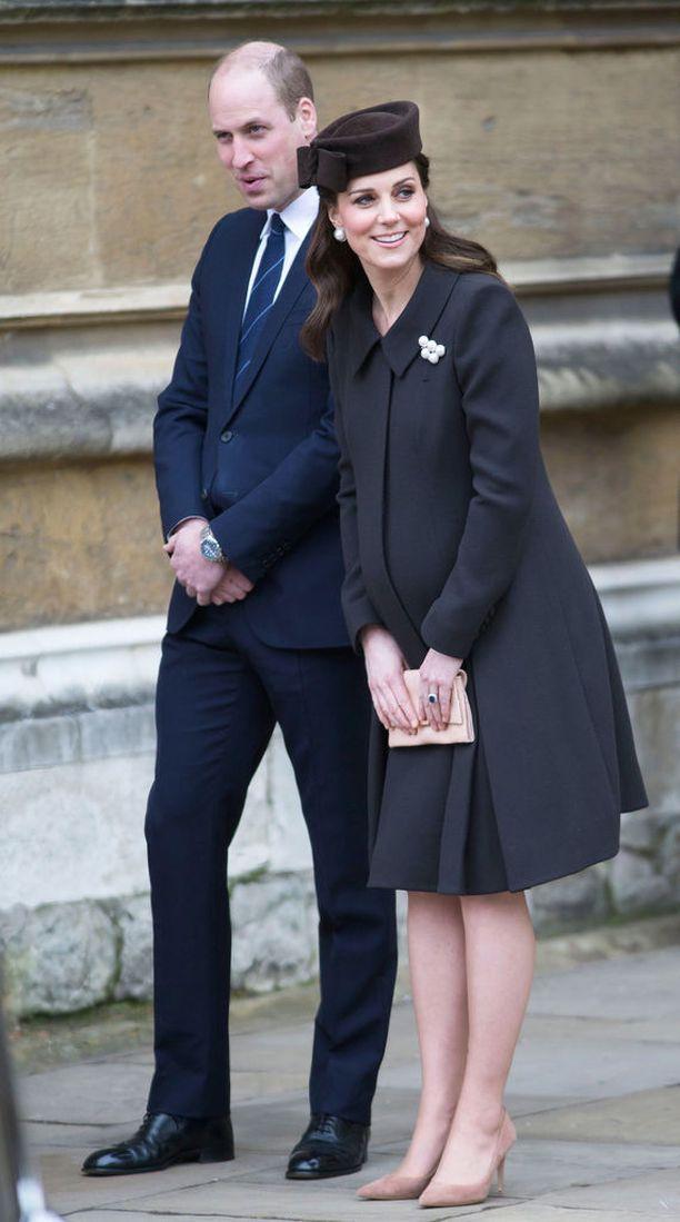Prinssi William ja herttuatar Catherine ovat saamassa kolmannen lapsensa.