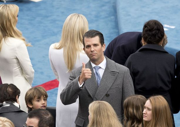 39-vuotias Donald Trump Junior on presidentin vanhin poika.