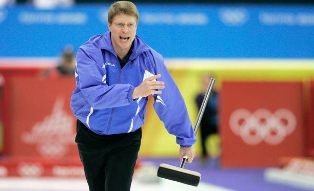 Markku Uusipaavalniemi saavutti olympiahopeaa Torinossa 2006.