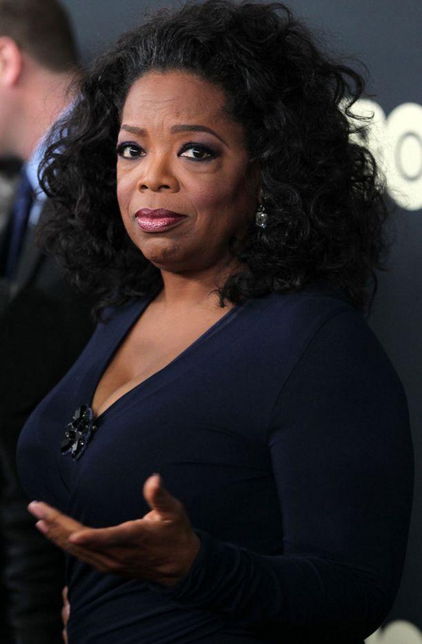Oprah Winfrey ei arkaile kysymystensä kanssa.