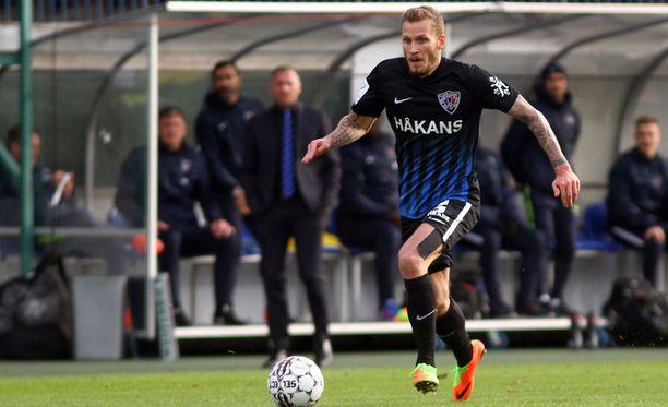 """Niko Markkulan mukaan Inter pelasi ensimmäisen puoliajan """"bussijaloilla""""."""