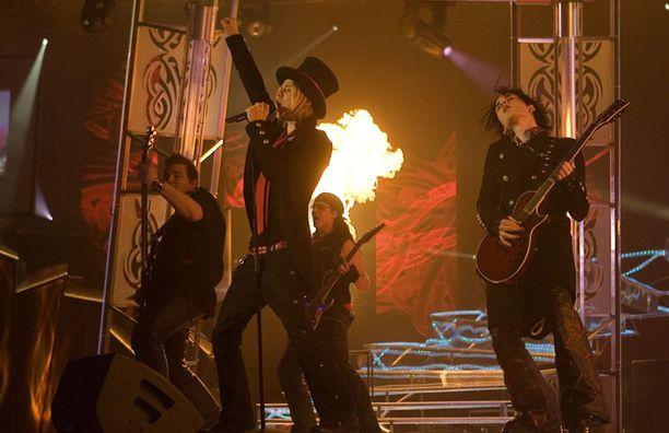 Lovex osallistui Euroviisujen Suomen karsintoihin vuonna 2007.