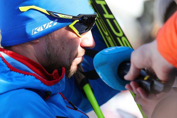 Aleksandr Loginov joutui Italian poliisin hampaisiin MM-kisoissa.