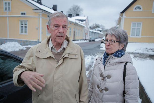Carita ja Olof Thodénin lapsenlapsi kävi hiljattain varusmiespalveluksensa Dragsvikin varuskunnassa.