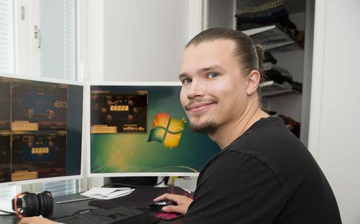 Henrin, 29, työvuoro alkaa kotona kello 23, ja hän voi tienata yhdessä yössä omaisuuden – Ei silti suosittele nettipokeria kenellekään