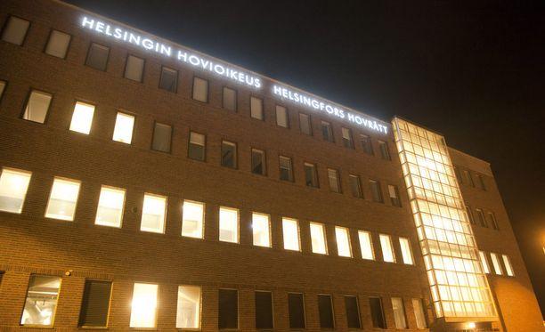 Helsingin hovioikeus piti miehen tuomion voimassa.