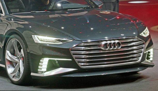 Genevessä juuri esitellyn Audi Prologue -konseptiauton (kuvassa) keulan ilmeessä saattaa olla jotakin uudesta Audi A4:stä. Prologue sinänsä viittaa pikemminkin Audi A8:aan kuin Audi A4:ään.