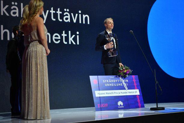 Iivo Niskanen sai sykähdyttävimmän urheiluhetken tarjoilusta muun muassa Huawein tuotepalkinnon.