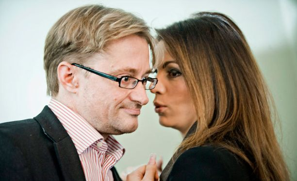 Mikael ja Maria Jungner vuonna 2011.