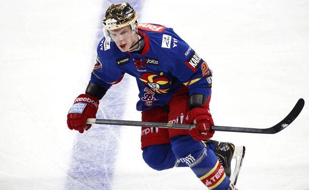 Teemu Eronen pelasi Jokereissa viimeksi kaudella 2013-14.