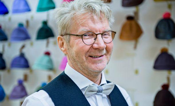 Pirkka-Pekka Petelius on saanut kunniamerkin presidentiltä.