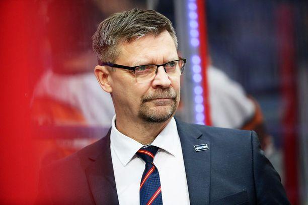 Jukka Jalonen kehui Tolvasta yhdeksi lahjakkaimmista nuorista, joita hän on valmentanut.