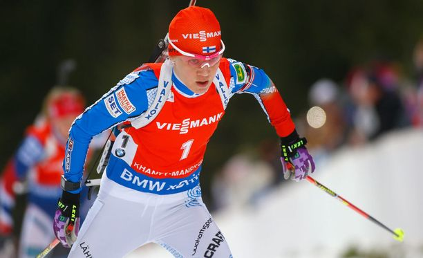 Kaisa Mäkäräinen oli neljäs ampumahiihdon maailmancupissa.