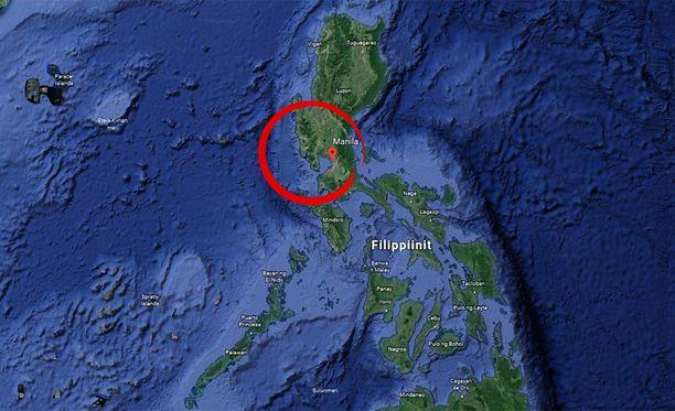 Filippiinit sijaitsee Tyynessä valtameressä seismisesti aktiivisella alueella.