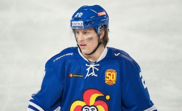 Eeli Tolvasesta voi tulla NHL-pelaaja pikemmin kuin on aavisteltu.