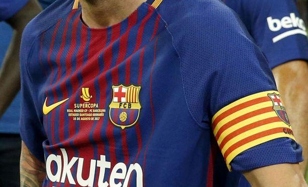 FC Barcelonan kotipaitaa muokataan sunnuntai-iltaa varten merkittävästi.