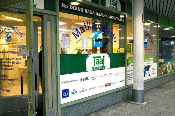 Helsingin Puotinharjussa sijaitseva Finn Hajj & Umra Travel on viime aikoina saanut uuden asiakaskunnan kotiin haluavista irakilaisista.