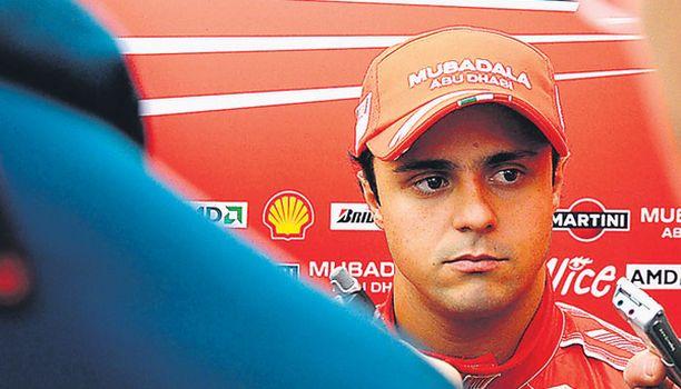 VALMIS Felipe Massa luottaa itseensä.