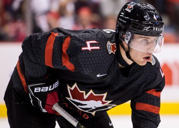 Jared McIsaac juhli nuorten maailmanmestaruutta Kanadan paidassa 2020.