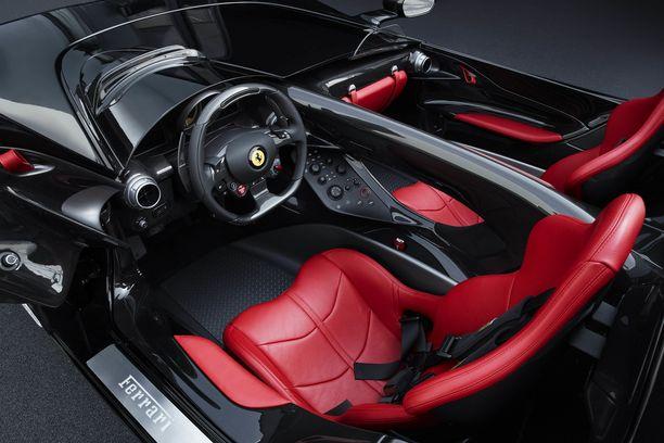 Näille jakkaroille pääsee, jos on muutama miljoona ylimääräistä ja tallissa entuudestaan pari Ferraria.