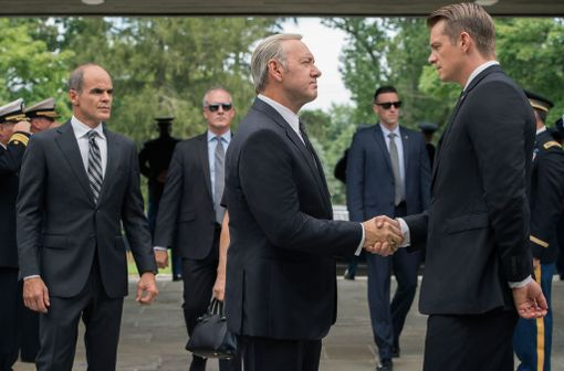 House of Cardsin uusimmalla kaudella Will Conway haastaa Frank Underwoodin tosissaan.