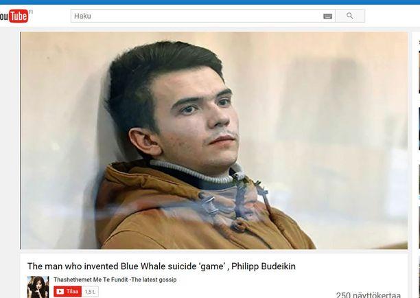 Philipp Budeikin sai kolmen vuoden tuomion.