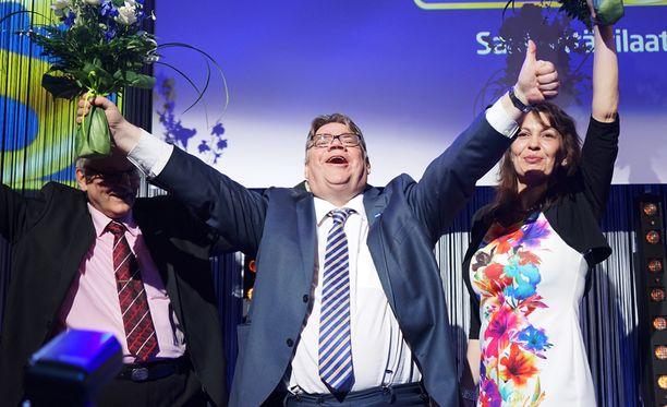 Viikonloppuna selviää, onko perussuomalaisten puoluekokouksessa yhtä riehakas tunnelma kuin vaalivalvojaisissa keväällä 2015.