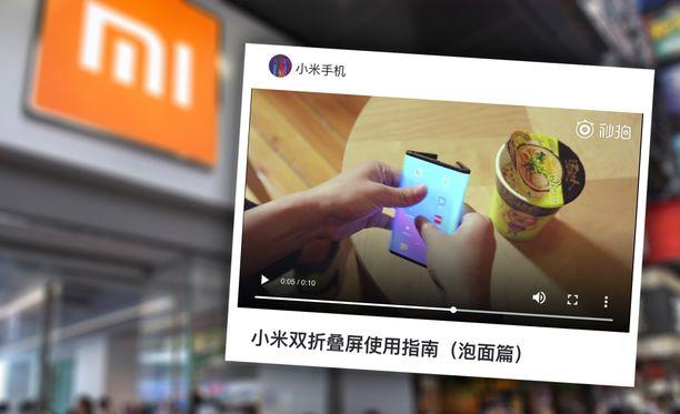 Xiaomi esitteli puhelimen käytettävyyttä videolla.