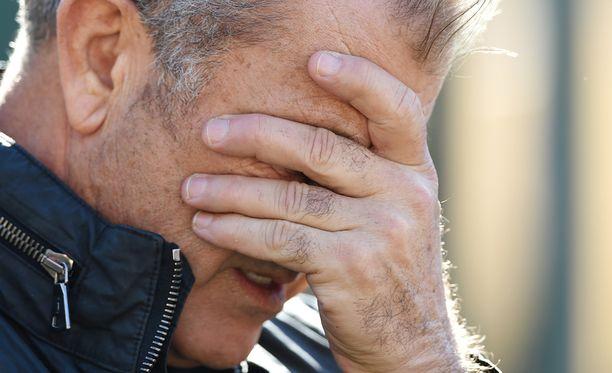 Mel Gibsonilla on aiemminkin ollut ongelmia vihanhallinan kanssa.