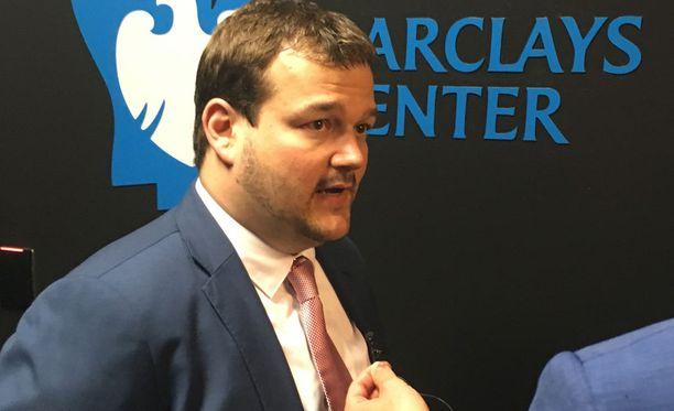 Lauri Markkasen agentti Mike Lelchitski oli draftin jälkeen tyytyväinen mies.