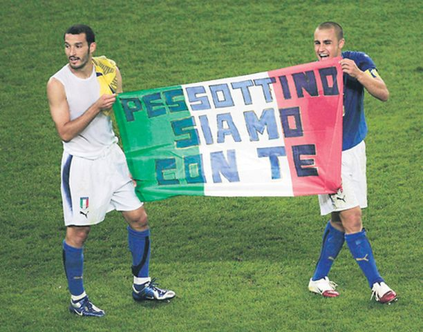 Tuoreet maailmanmestarit Gianluca Zambrotta ja Fabio Cannavaro ovat Realin ostoslistalla.