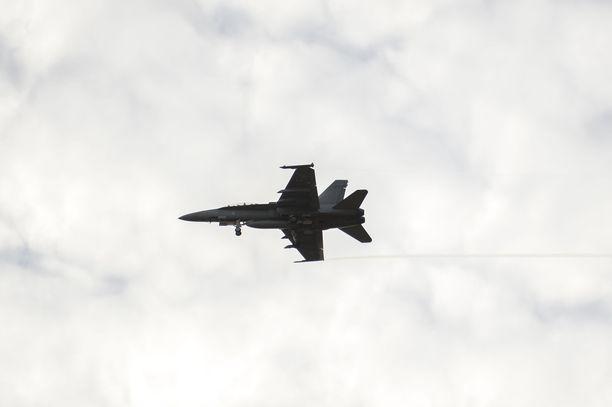 Pisimmillään koneet kävivät 600 metrin syvyydessä Suomen alueella. Kuvituskuva.