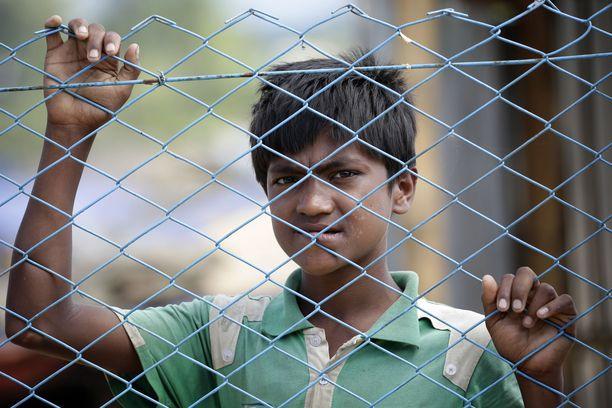 Monet rohingyat ovat joutuneet pakenemaan kodeistaan vainojen vuoksi.