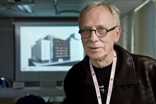 Elmu-säätiön pitkäaikainen puuhamies Christian Moustgaard oli myös Jallukka-talon kantavia voimia.