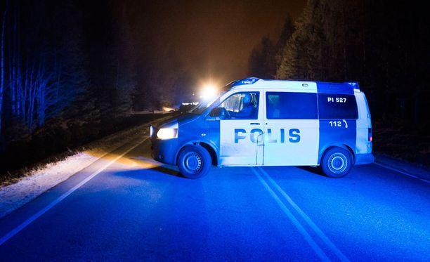 Lounais-Suomen poliisi on ollut yöllä kiireinen. Kuvituskuva.