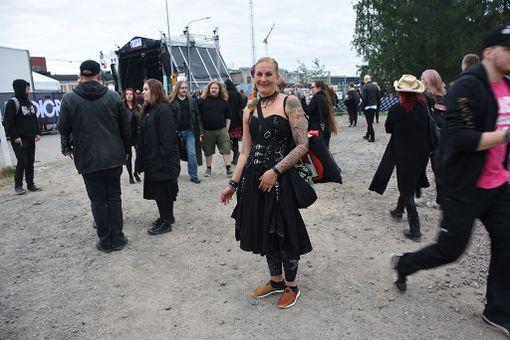 Elisa Lehtonen iloitsi artistikattauksesta.- Tämä on minulle 15. kerta Tuskassa.