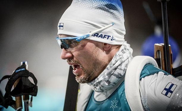 Olli Hiidensalo oli 35:s maanantain takaa-ajokilpailussa Etelä-Koreassa.