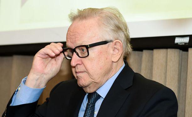 Presidentti Martti Ahtisaari. Arkistokuva.